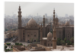 Acrylic print  Mosque of Sultan Hassan in Cairo old town, Cairo, Egypt, North Africa, Africa - Martin Child