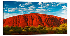 Canvas print  Uluru (Ayers Rock) - Giles Bracher