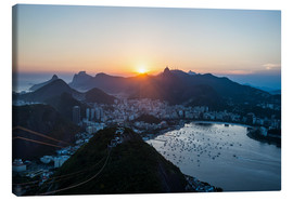 Canvas print  View from the Sugarloaf - Michael Runkel