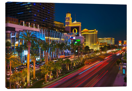 Canvas print  The Strip, Las Vegas, Nevada, United States of America, North America - Alan Copson