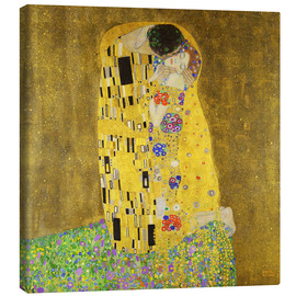 Canvas print  The kiss - Gustav Klimt