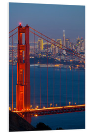Foam board print  Golden Gate Bridge - Miles Ertman