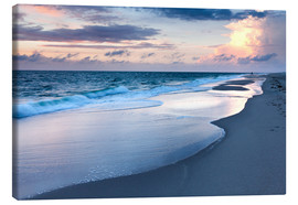 Canvas print  Sunset at Kampen beach - Markus Lange
