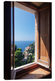 Canvas print  View of Portofino - Markus Lange