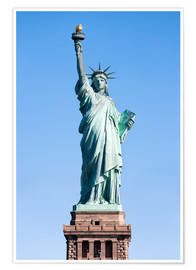 Premium poster  Statue of Liberty in New York USA - Jan Christopher Becke