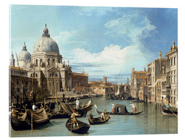 Acrylic print  Entrance to the Canal Venice - Bernardo Bellotto (Canaletto)