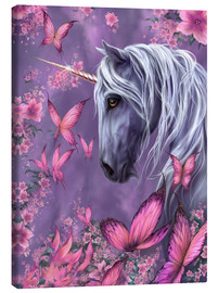 Canvas print  The Butterfly Unicorn - Susann H.