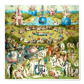 Premium poster  The Garden of Earthly Delights - Hieronymus Bosch