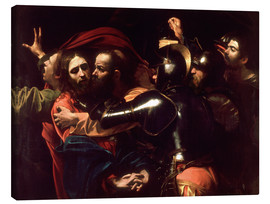 Canvas print  Arrest of Christ - Michelangelo Merisi (Caravaggio)