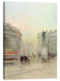 Canvas print  College Green Dublin - Rose Maynard Barton