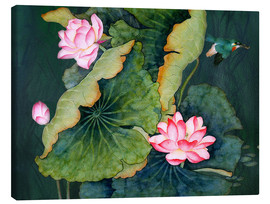 Canvas print  Lotuses
