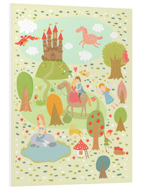 Foam board print  My favorite fairy tales - Petit Griffin