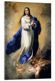 Acrylic print  The Immaculate Conception - Bartolome Esteban Murillo