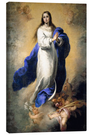 Canvas print  The Immaculate Conception - Bartolome Esteban Murillo