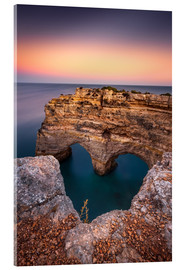 Acrylic print  Heart of the Algarve (Praia da Marinha / Portugal) - Dirk Wiemer