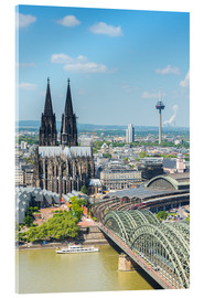 Acrylic print  Cologne Cathedral (Cathedral of St. Peter) - rclassen
