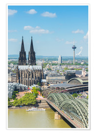 Premium poster  Cologne Cathedral (Cathedral of St. Peter) - rclassen
