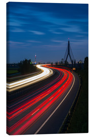 Canvas print  Highway to Dusseldorf - rclassen
