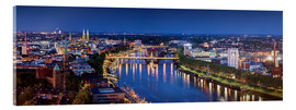 Acrylic print  Bremen at the blue hour - Tanja Arnold Photography