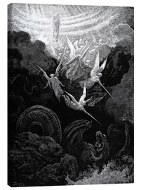 Canvas print  the crowned virgin - Gustave Doré