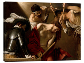 Canvas print  The Crowning with Thorns - Michelangelo Merisi (Caravaggio)
