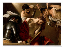 Premium poster  The Crowning with Thorns - Michelangelo Merisi (Caravaggio)