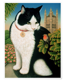 Premium poster  Humphrey, the cat - Frances Broomfield