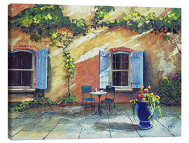 Canvas print  Shutters, Provence, France, 1999 - Trevor Neal
