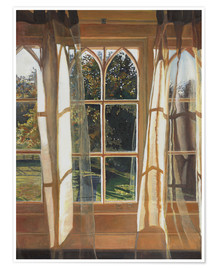 Premium poster  The yellow window, 2013, - Helen White