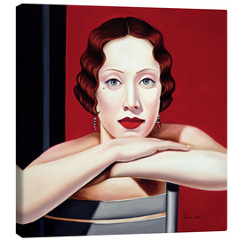 Canvas print  Berlin 1924 - Catherine Abel