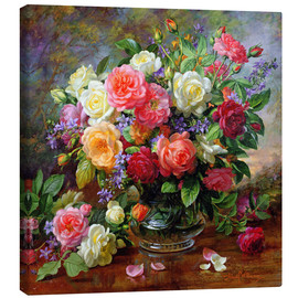 Canvas print  Roses - the perfection of summer - Albert Williams