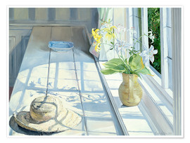 Premium poster  Still life in front of the window - Timothy Easton