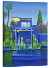 Canvas print  Majorelle Gardens, Marrakech - Larry Smart
