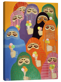 Canvas print  The Impossible Dream, 1988 - Laila Shawa