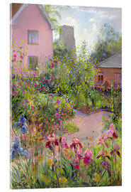 Acrylic print  Herb Garden at Noon - Timothy Easton