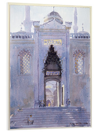 Foam board print  Gateway to The Blue Mosque - Lucy Willis