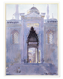 Premium poster  Gateway to The Blue Mosque - Lucy Willis