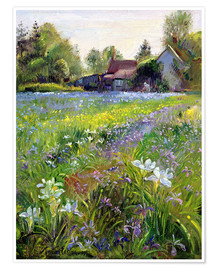 Premium poster  Cottage in the country - Timothy Easton