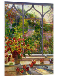 Foam board print  Autumn View - Timothy Easton