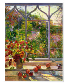 Premium poster  Autumn View - Timothy Easton