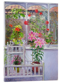 Acrylic print  In the winter garden - Timothy Easton