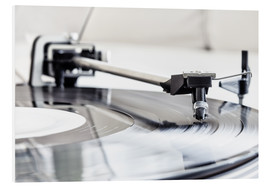 Foam board print  turntable - Filtergrafia