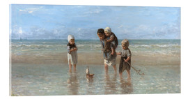 Acrylic print  Children of the sea - Jozef Israels