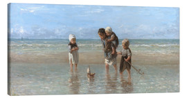 Canvas print  Children of the sea - Jozef Israels