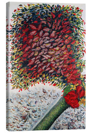 Canvas print  The Red Tree - Seraphine Louis