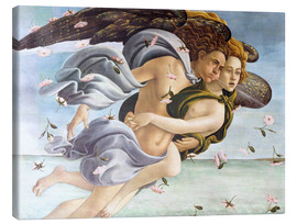 Canvas print  Birth of Venus, Angels - Sandro Botticelli