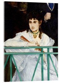 Acrylic print  The Balcony (Detail) - Edouard Manet