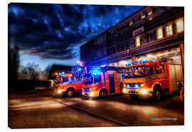 Canvas print  German fire trucks - Markus Will