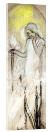Acrylic print  Study for The Lily - Alfons Mucha