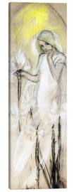 Canvas print  Study for The Lily - Alfons Mucha